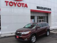This 2016 Toyota Highlander Limited is proudly offered