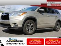 This 2016 Toyota Highlander XLE is proudly offered by