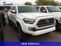 CARFAX One-Owner. Super White 2016 Toyota Tacoma