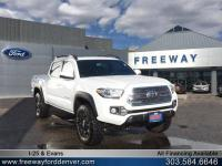 Super White 2016 Toyota Tacoma TRD Offroad 4WD 6-Speed