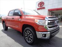 CARFAX One-Owner. Clean CARFAX. Inferno Red 2016 Toyota