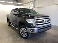 Black 2016 Toyota Tundra 1794 4WD 6-Speed Automatic