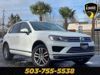 Our 2016 Volkswagen Touareg TDI Luxury AWD with