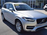 CARFAX One-Owner. Bright Silver Metallic 2016 Volvo