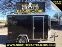 2016 Wells Cargo 6X10 Enclosed Trailer WC22452