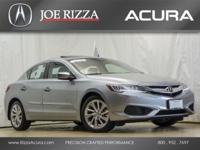 Clean CARFAX. Certified. 2017 Acura ILX Lunar Silver