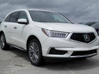 Options:  2017 Acura Mdx W/Technology Pkg|White Diamond