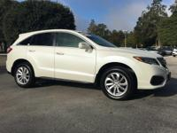 This Acura Rdx is Certified Preowned! CARFAX 1-Owner!