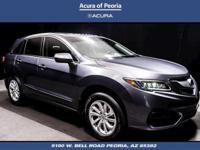Certified.  2017 Acura RDX Priced below KBB Fair