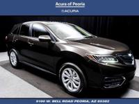 2017 Acura RDX Technology Package 28/20 Highway/City