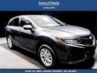 AWD.  2017 Acura RDX Technology Package 27/19