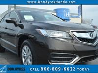 Brown 2017 Acura RDX Technology Package AWD AWD 6-Speed