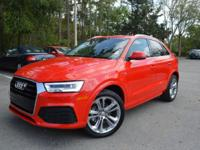 ***2017 Audi Q3, 2621 miles, Automatic, 2.0L Engine,