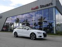 ******AUDI CERTIFIED*****IBIS WHITE OVER FINE BLACK