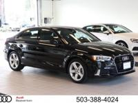 This outstanding example of a 2017 Audi A3 Sedan