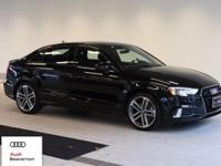 Check out this gently-driven 2017 Audi A3 Sedan we