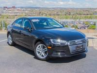 Audi Certified, GREAT MILES 6,325! Premium trim. EPA 31