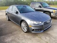 Monsoon Gray Metallic 2017 Audi A4 2.0T Premium Plus