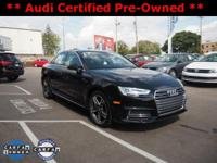 2017 Audi A4 2.0T Premium Plus! ** ACCIDENT FREE CARFAX