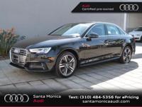 A4 2.0T Premium Plus quattro, Audi Certified, 7-Speed