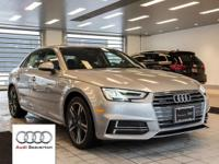 Check out this gently-driven 2017 Audi A4 we recently