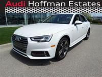 This Audi A4 has a strong Intercooled Turbo Premium