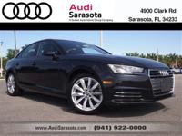 Audi Certified.. This Very Low Mileage A4 Ultra Sedan