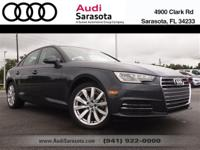 Audi Certified..EPA Rated 37 MPG Highway!..This One