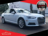 New Price! 2017 Audi A4 2.0T FrontTrak **SUNROOF,