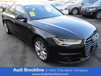 *CarFax One Owner!* *This Audi A6 is CERTIFIED!*