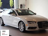 This outstanding example of a 2017 Audi A7 Premium Plus
