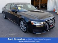 CARFAX 1-Owner. A8 L trim. PRICE DROP FROM $61,498,