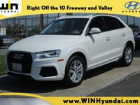 CARFAX One-Owner. Clean CARFAX. Cortina White 2017 Audi