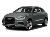 Options:  2017 Audi Q3 Premium|/|V4 2.0 L Automatic|0