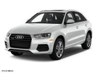 People everywhere will love the way this 2017 Audi Q3