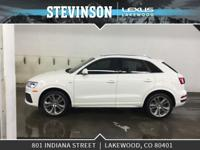 Stevinson Lexus is offfering this. 2017 Audi Q3 2.0T