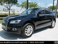 One Owner Clean Carfax and Audi Certified. Q5 2.0T