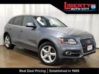 CARFAX One-Owner. Lava Gray Pearl Effect 2017 Audi Q5