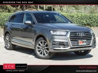 Scores 25 Highway MPG and 20 City MPG! This Audi Q7