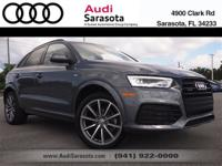 Audi Certified!..This Very Low Mileage Q3 Prestige