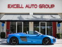Introducing the 2017 Audi R8 V10 Spyder, featuring a