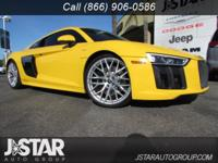 This Audi R8 Coupe has a dependable Premium Unleaded
