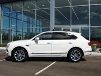 AVAILABLE FOR TEST DRIVE! Bentley's SUV takes the class