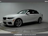 2017 BMW 2 Series 230i 34/23 Highway/City MPG - Air