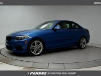 2017 BMW 2 Series 230i 35/24 Highway/City MPG - Air