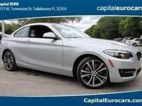 2017 BMW 2 Series 230i 35/24 Highway/City MPGAwards:  *