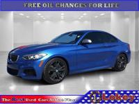 CARFAX One-Owner. Clean CARFAX. 2017 BMW 2 Series M240i