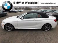 BMW M240i xDrive Convertible equipped with Cold Weather