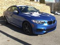 2017 BMW 2 Series M240i xDrive Estoril Blue Metallic