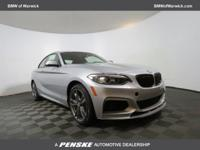 2017 BMW 2 Series M240i 31/21 Highway/City MPG - This